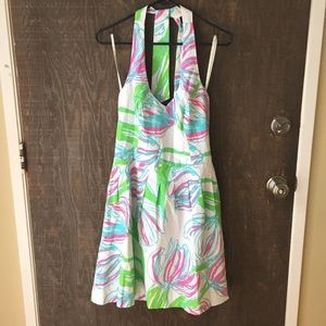 Lilly Pulitzer Ring the Bellboy halter dress NWT